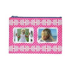 Little Lady (large) Cosmetic Bag By Deborah   Cosmetic Bag (large)   Q39qk686qyuu   Www Artscow Com Front