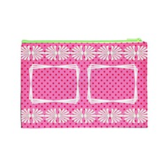 Little Lady (large) Cosmetic Bag By Deborah   Cosmetic Bag (large)   Q39qk686qyuu   Www Artscow Com Back