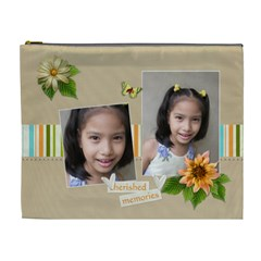 Xl Cosmetic Bag: Cherished  By Jennyl   Cosmetic Bag (xl)   4jb2zbwuwe4m   Www Artscow Com Front