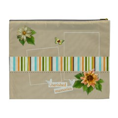 Xl Cosmetic Bag: Cherished  By Jennyl   Cosmetic Bag (xl)   4jb2zbwuwe4m   Www Artscow Com Back