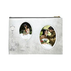 Love (large) Cosmetic Bag By Deborah   Cosmetic Bag (large)   Rzog8o48am5x   Www Artscow Com Back