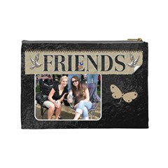 Friends Large Cosmetic Bag By Lil    Cosmetic Bag (large)   Afwgkauyx66k   Www Artscow Com Back