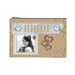 Bride Large Cosmetic Bag - Cosmetic Bag (Large)