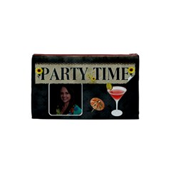 Party Time Small Cosmetic Bag By Lil    Cosmetic Bag (small)   Mcciciq11jzj   Www Artscow Com Back