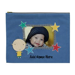Xl Cosmetic Bag: Cute Kid Boy By Jennyl   Cosmetic Bag (xl)   Lveo7glb1b80   Www Artscow Com Front