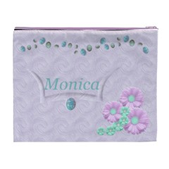 Opal Cosmeticbag Xl By Kdesigns   Cosmetic Bag (xl)   Rjzoigu76q21   Www Artscow Com Back