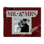 Mr. and Mrs. XL Cosmetic Bag - Cosmetic Bag (XL)