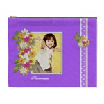 flower faith - 3 - Cosmetic Bag (XL)