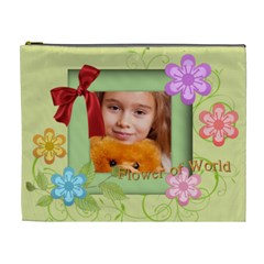 Happy Kids By Joely   Cosmetic Bag (xl)   Wxh2um6w65kl   Www Artscow Com Front