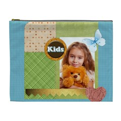 Happy Kids By Joely   Cosmetic Bag (xl)   Kcvibz3nja5h   Www Artscow Com Front
