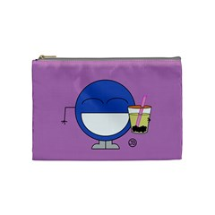 Milktea Cosmetics Bag (medium) By Giggles Corp   Cosmetic Bag (medium)   Jwiehmkqfode   Www Artscow Com Front