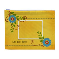 Xl Cosmetic Bag: Summer Colors By Jennyl Front