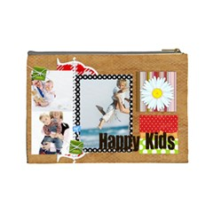 Beauty Flower Kids123 By Joely   Cosmetic Bag (large)   0842tj6hsv75   Www Artscow Com Back