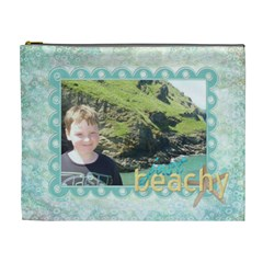 Just Beachy Extra Large Cosmetic Bag 2 By Catvinnat   Cosmetic Bag (xl)   Quq0zoej117v   Www Artscow Com Front