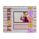 flower world - Cosmetic Bag (XL)