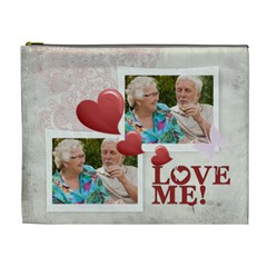 Love Me By Joely   Cosmetic Bag (xl)   Ne2dqkichsnq   Www Artscow Com Front
