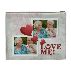 Love Me By Joely   Cosmetic Bag (xl)   Ne2dqkichsnq   Www Artscow Com Back