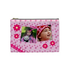 Little Princess   Cosmetic Bag (medium) By Picklestar Scraps   Cosmetic Bag (medium)   9fhbfhovvxn4   Www Artscow Com Front