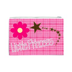 Little Princess   Cosmetic Bag (large) By Picklestar Scraps   Cosmetic Bag (large)   4l0wxi6x9dr1   Www Artscow Com Back