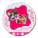 Little Princess - Round Mousepad