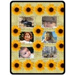 Sunflower (XL) Fleece Blanket - Fleece Blanket (Extra Large)
