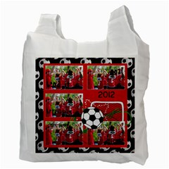 Soccer Mom  Recycle Bag (2 Sides) By Mikki   Recycle Bag (two Side)   3le5nzzsv8xv   Www Artscow Com Back