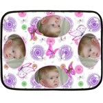 Baby butterfly Mini Fleece - Fleece Blanket (Mini)