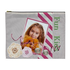 Kids By Joely   Cosmetic Bag (xl)   Wbc6j7g2a2a2   Www Artscow Com Front