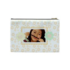 Little Peach Cosmetic Bag Medium By Purplekiss   Cosmetic Bag (medium)   W23m0biciytr   Www Artscow Com Back