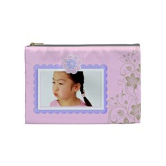 Zarah Cosmetic Bag Medium By Purplekiss   Cosmetic Bag (medium)   3vhgt6vl66ga   Www Artscow Com Front