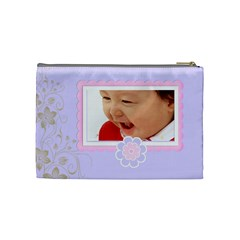 Zarah Cosmetic Bag Medium By Purplekiss   Cosmetic Bag (medium)   3vhgt6vl66ga   Www Artscow Com Back