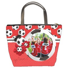 Soccer Bucket Bag By Mikki   Bucket Bag   5alcget5scml   Www Artscow Com Back