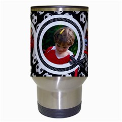 Soccer  Travel Mug By Mikki   Travel Mug (white)   Mrqsc7imk8a5   Www Artscow Com Center