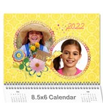 Family/Friends- wall calendar 8.5x6 - Wall Calendar 8.5 x 6