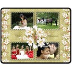Lily (medium) Fleece Blanket - Fleece Blanket (Medium)