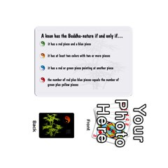 Zendo Mini Cards By Melody   Playing Cards 54 (mini)   Kaa7t7jh30tk   Www Artscow Com Front - Spade3