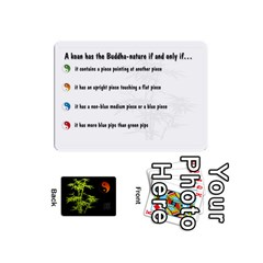 Zendo Mini Cards By Melody   Playing Cards 54 (mini)   Kaa7t7jh30tk   Www Artscow Com Front - Heart9