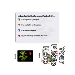 Zendo Mini Cards By Melody   Playing Cards 54 Designs (mini)   Kaa7t7jh30tk   Www Artscow Com Front - Diamond2