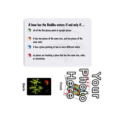 Zendo Mini Cards By Melody   Playing Cards 54 (mini)   Kaa7t7jh30tk   Www Artscow Com Front - Club4