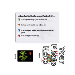 Zendo Mini Cards By Melody   Playing Cards 54 Designs (mini)   Kaa7t7jh30tk   Www Artscow Com Front - Club5