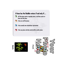 Zendo Mini Cards By Melody   Playing Cards 54 Designs (mini)   Kaa7t7jh30tk   Www Artscow Com Front - Club10