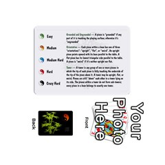 Ace Zendo Mini Cards By Melody   Playing Cards 54 Designs (mini)   Kaa7t7jh30tk   Www Artscow Com Front - ClubA