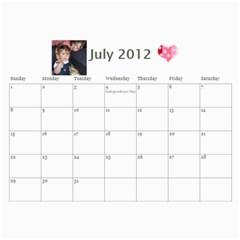 2011 By Christine Connors   Wall Calendar 11  X 8 5  (12 Months)   Rbhbyu4cdjf0   Www Artscow Com Jul 2012