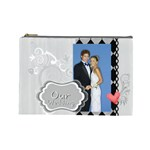 our wedding - Cosmetic Bag (Large)