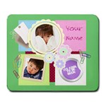 Cool To Be Geek Pastel Mousepad Large - Large Mousepad