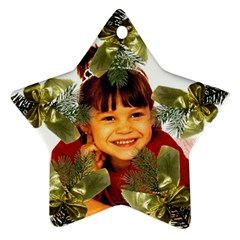 Pine Branch Star Ornament Two Sides By Kim Blair   Star Ornament (two Sides)   9vnz97txe2ve   Www Artscow Com Front