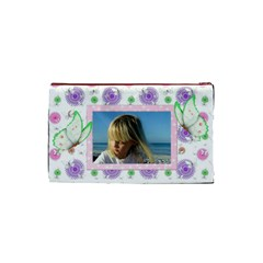 Butterfly (small) Cosmetic Bag By Deborah   Cosmetic Bag (small)   Ng0ofqhhxrsn   Www Artscow Com Back