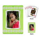 Little girl Playing cards - Playing Cards Single Design