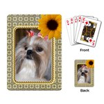 Framed Playing Cards - Playing Cards Single Design