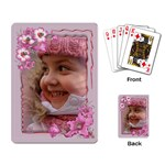 Pretty in Pink Playing Cards - Playing Cards Single Design